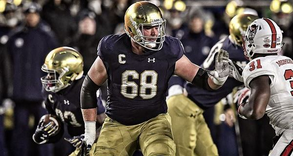 Mike McGlinchey (Photo: Matt Cashore, 247Sports)