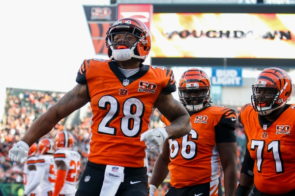 Fantasy Football Running Back Rankings Joe Mixon