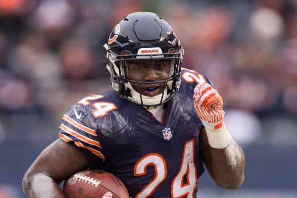 Fantasy Football Running Back Jordan Howard