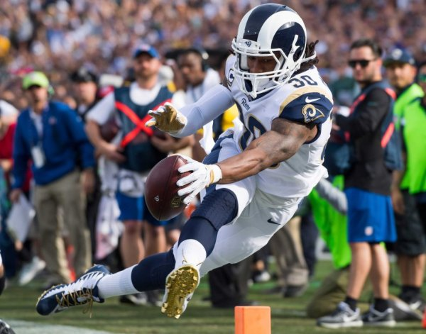 Fantasy Football Ranked Running Back for 2018 Todd Gurley