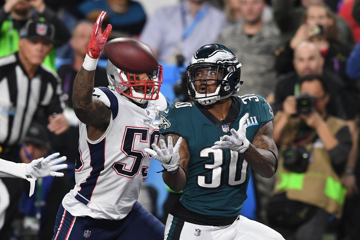 Fantasy Football Running Back Corey Clement