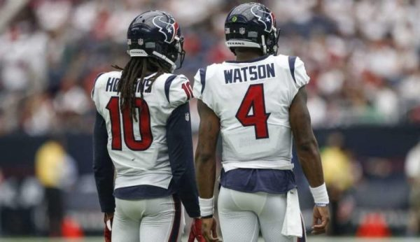 Top Quarterback Wide Receiver Stack (Photo credit: Michael Ciaglo, Houston Chronicle