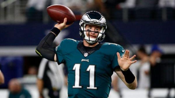 Philadelphia Eagles Carson Wentz (photo credit: Associated Press, Ron Jenkins)