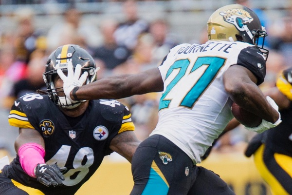 Jaguars Fantasy Football Running Back Leonard Fournette