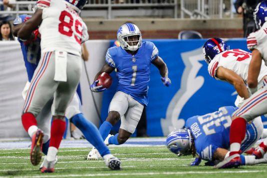 Brandon Powell of the Detroit Lions (Photo credit: Junfu Han, Detroit Free Press).