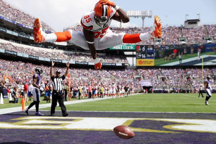 Browns Tight End David Njoku