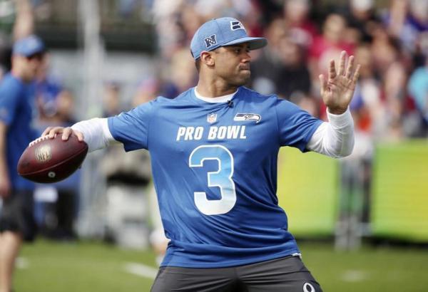 Pro Bowl NFC Quarterback Russell Wilson 2019
